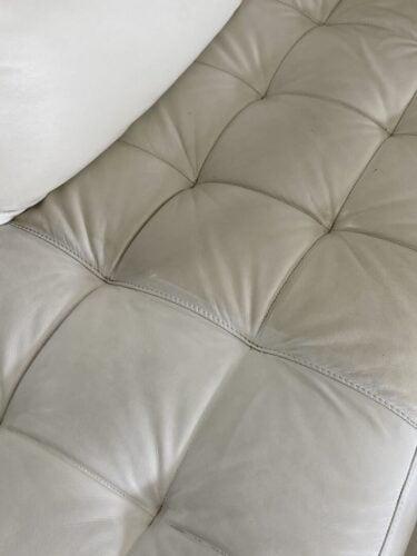Marine White Vinyl & Leather Finish photo review