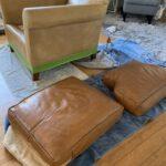 Cognac Vinyl & Leather Finish photo review
