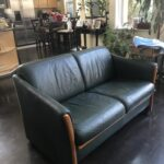 Picture of used leather couch