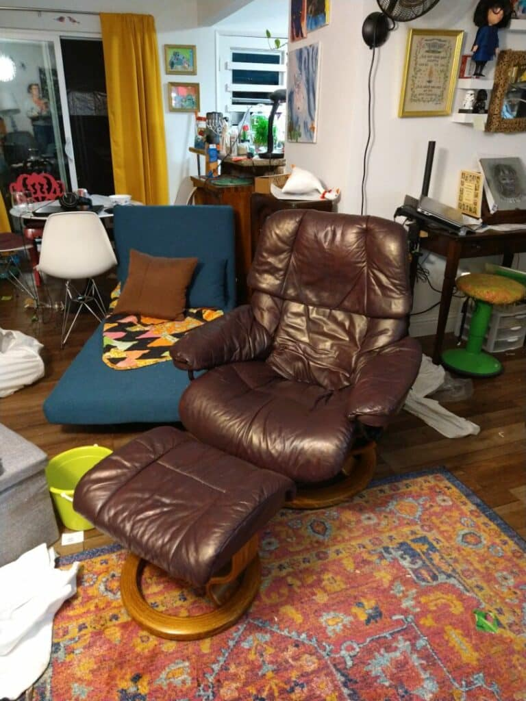 Eggplant Vinyl & Leather Finish photo review
