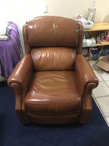 Leather chair after Rub n Restore