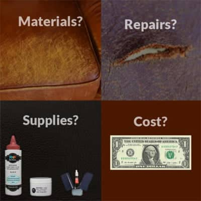 leather repairs faq