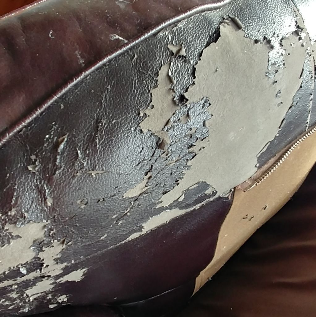 How To Repair Peeling Leather Faux Leather Bonded Leather Blues