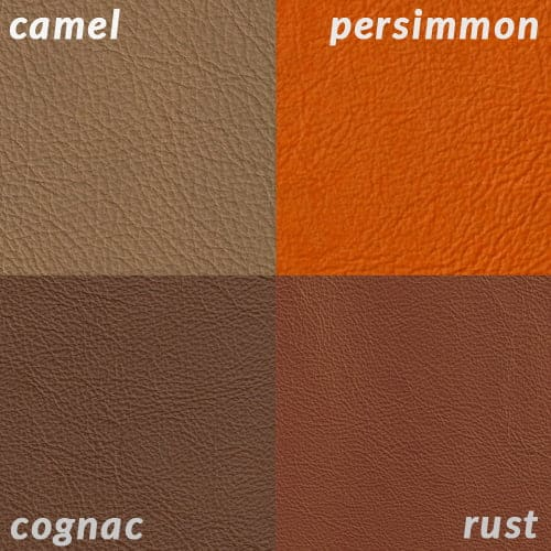 Infographic of Cognac compared to tans and orange-red colors