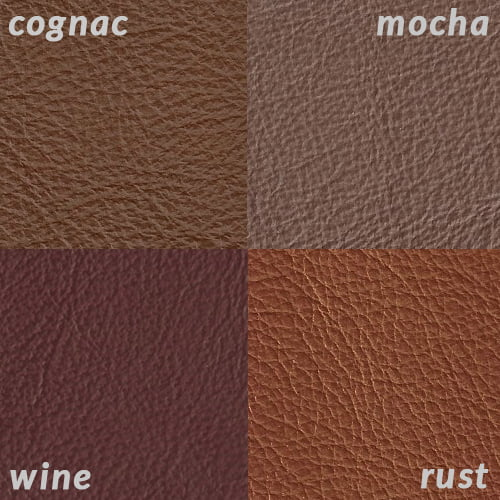 Infographic of Cognac compared tolighter reds and tans