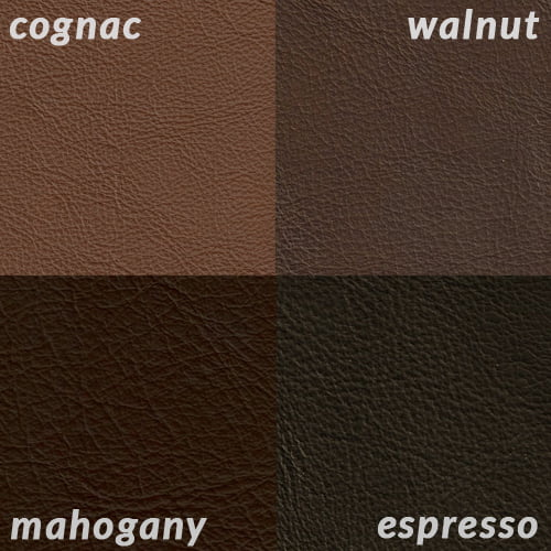 Infographic of Cognac compared to darker browns