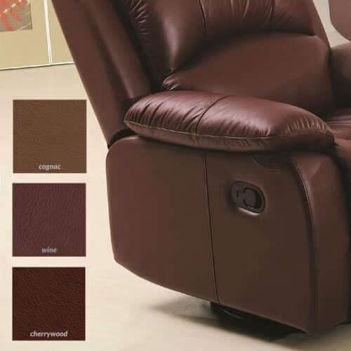 Image of recliner chair with possible matching color thumbnails