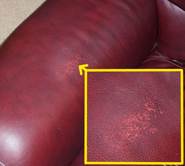 flacking bonded leather