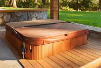 Picture of marine vinyl spa or hot tub cover