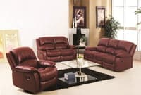 Picture of leather furniture set