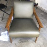 Picture of mid century modern leather chair