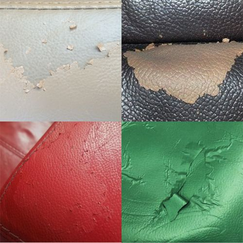 Why is Leather or Vinyl Peeling or Flaking? Causes and Solutions