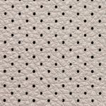 Picture of undamaged perforated leather upholstery