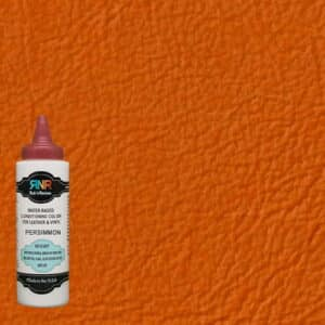 Persimmon leather & vinyl color
