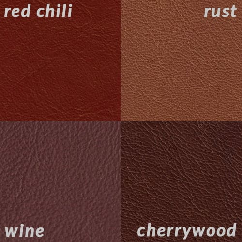 Infographic comparing Red Chili to other reds and burgundies