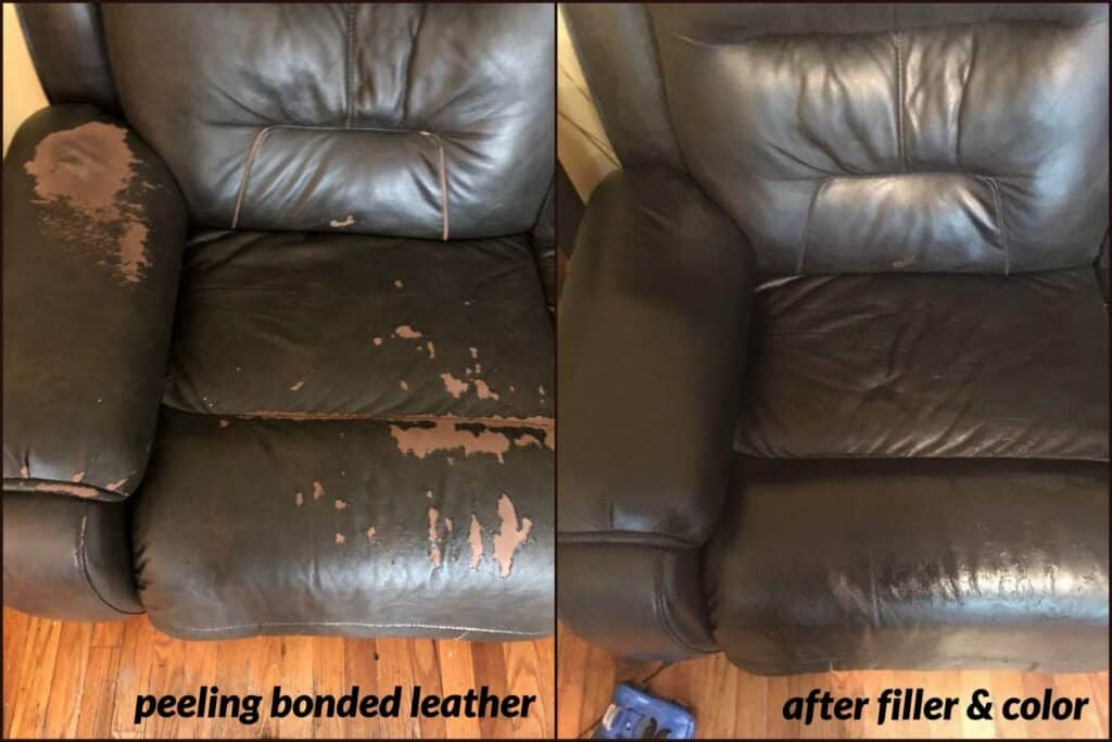 How To Repair Ling Leather Faux, Leather Furniture Repair Kit