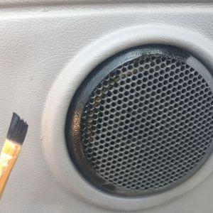Restoring a car speaker housing