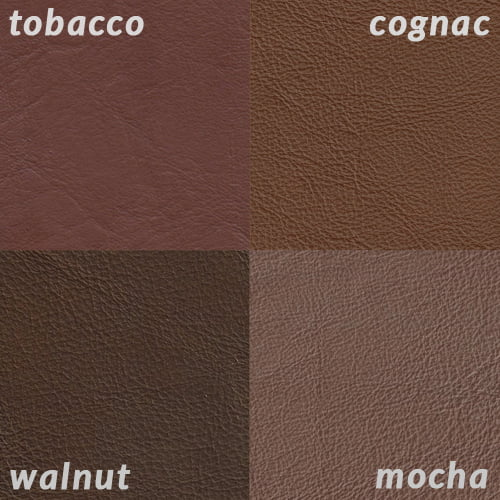 swatch color grid tobacco cognac walnut mocha